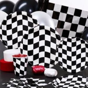 Race Themed Tableware