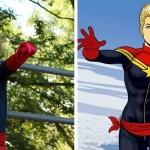 Stella Grace as Captain Marvel