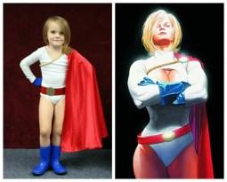 Stella as Power Girl