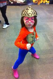 Shiloh as Wonder Woman