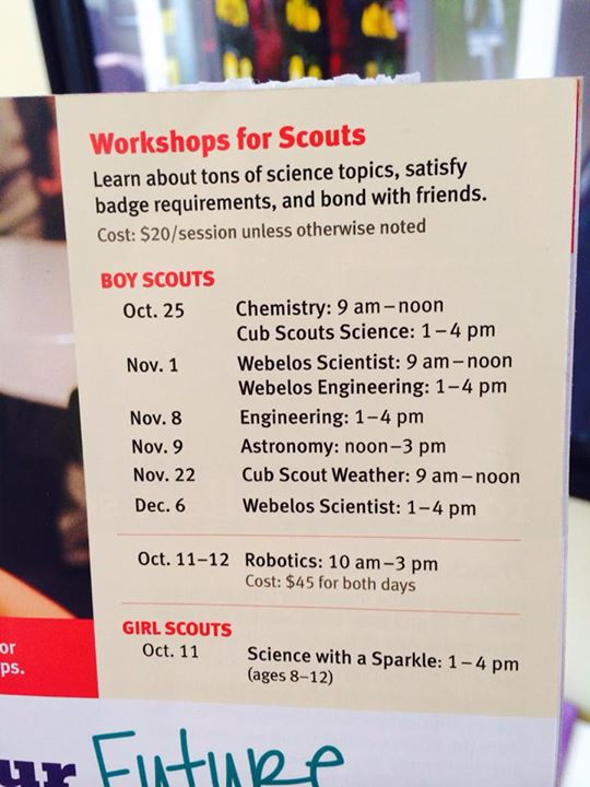 Classes for Scouts