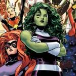 "Marvel Launches All-Female Avengers Team ""A-Force"""