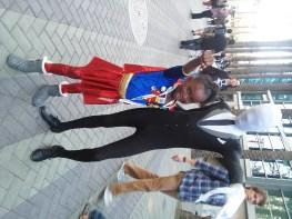 Supergirl and Slenderman