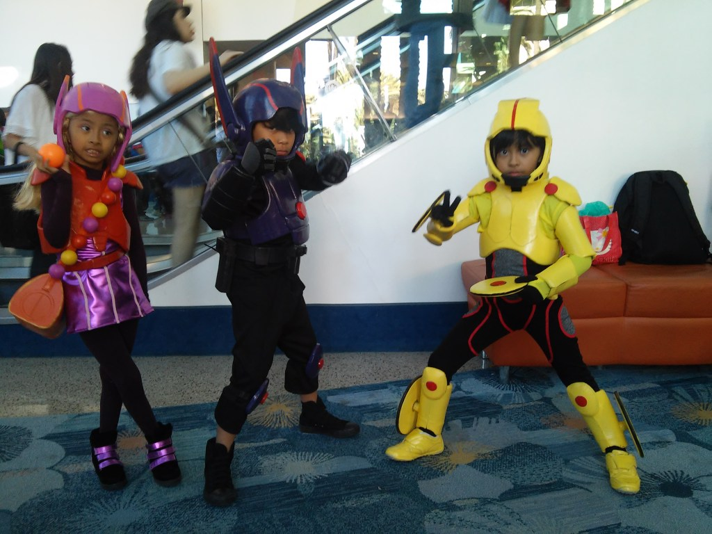 Honey Lemon, Hiro and Gogo Gomato