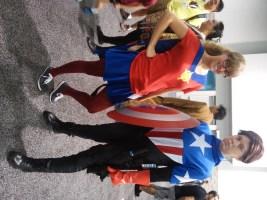 Quasar and Captain America