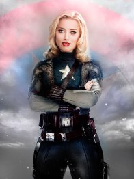 Captain America - Amber Heard