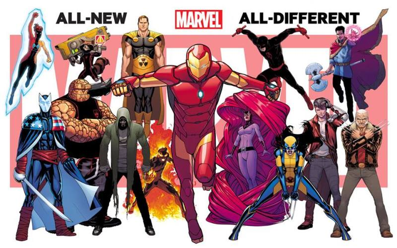 All-New, All-Different Wolverine