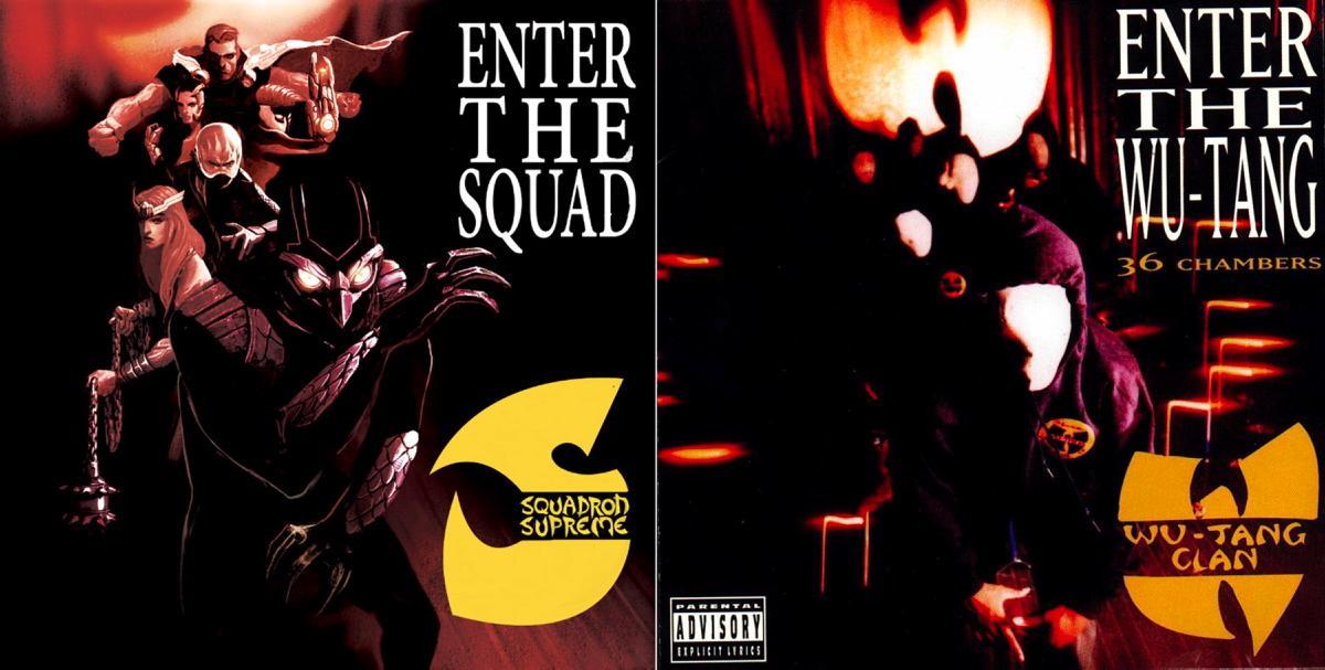 Squadron Supreme #1 / Wu-Tang Clan's