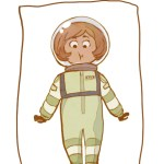 #MoreThanCute Astronaut - art by Melissa Pagluica