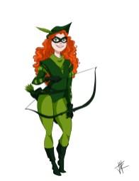 Brave Green Arrow