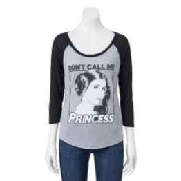 Juniors' Star Wars Princess Leia Tee - Kohl's