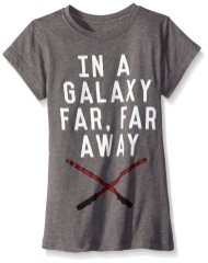 Star Wars Big Girls' Galaxy Far Away Tee - Amazon