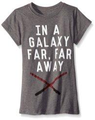 Star Wars Big Girls' Galaxy Far Away Tee - Amazon