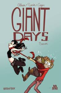 Giant Days #7 - cover by Lissa Treiman