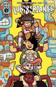 Lumberjanes #14 - cover by Brooke Allen