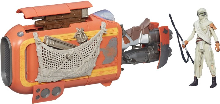 Rey's Speeder Bike Set