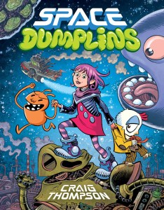 Space Dumplins - cover by Craig Thompson