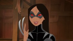 Mulan as X-23 (now Wolverine)