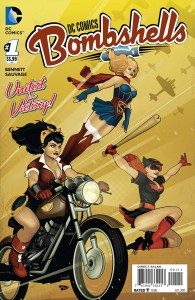 DC Comics Bombshells #1 -- Cover by Ant Lucia