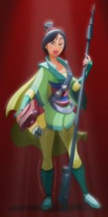 Bounty Hunter Mulan