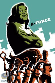 A-Force - cover by Michael Cho