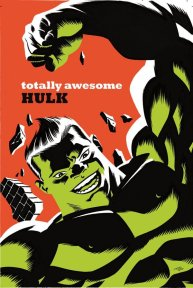 Totally Awesome Hulk - cover by Michael Cho
