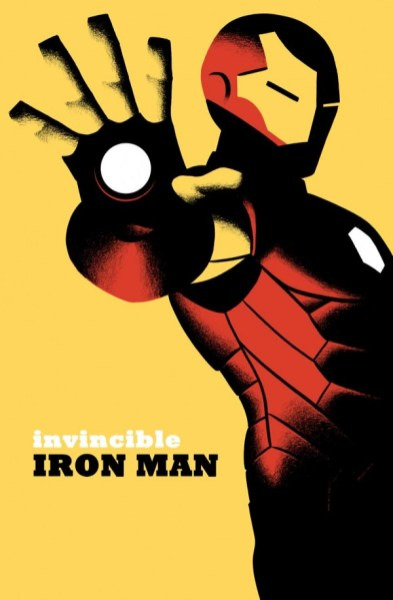 Invincible Iron Man - cover by Michael Cho