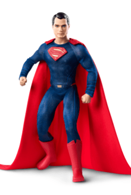 Superman Barbie from Mattel