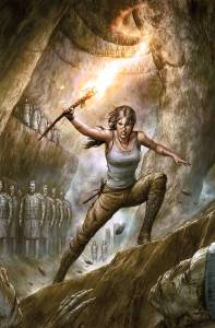 Tomb Raider #1 - cover by Agustin Alessio
