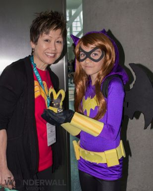 Lisa Yee and Batgirl - Scarlett Phox