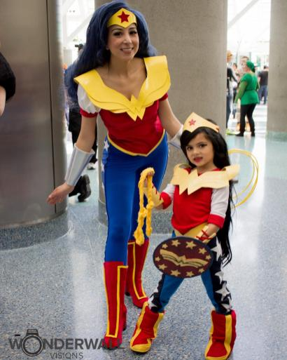 Big Wonder Woman / Little Wonder Woman - Mommy and Me Cosplay