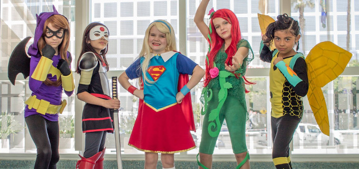 Dc Superhero Girls Cosplay Heroic Girls