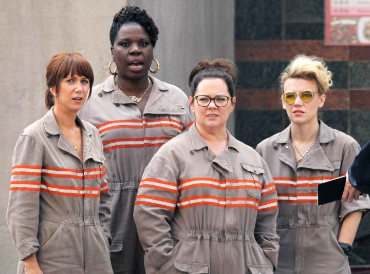 Kristen Wiig, Leslie Jones Melissa McCarthy and Kate McKinnon - Ghostbusters
