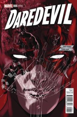 """Daredevil# 6 """"The Story So Far"""" variant cover by David Lopez"""