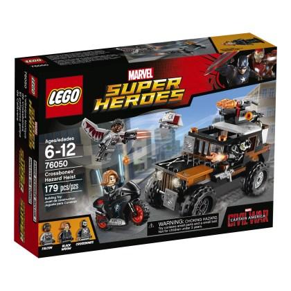 LEGO® Super Heroes Crossbones' Hazard Heist 76050