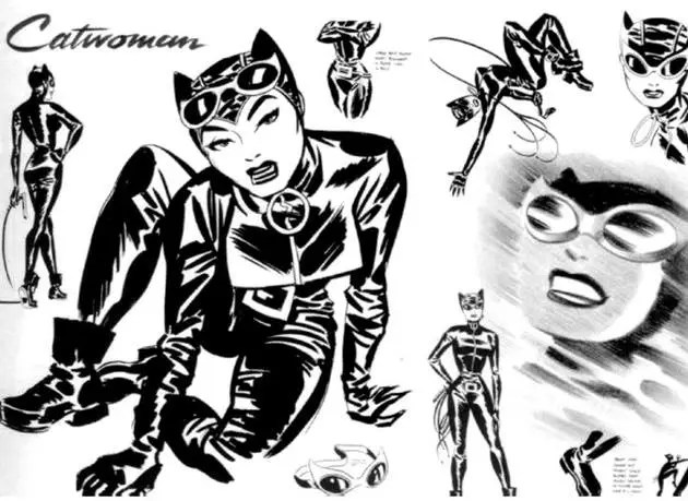 Catwoman Style Guide - Darwyn Cooke