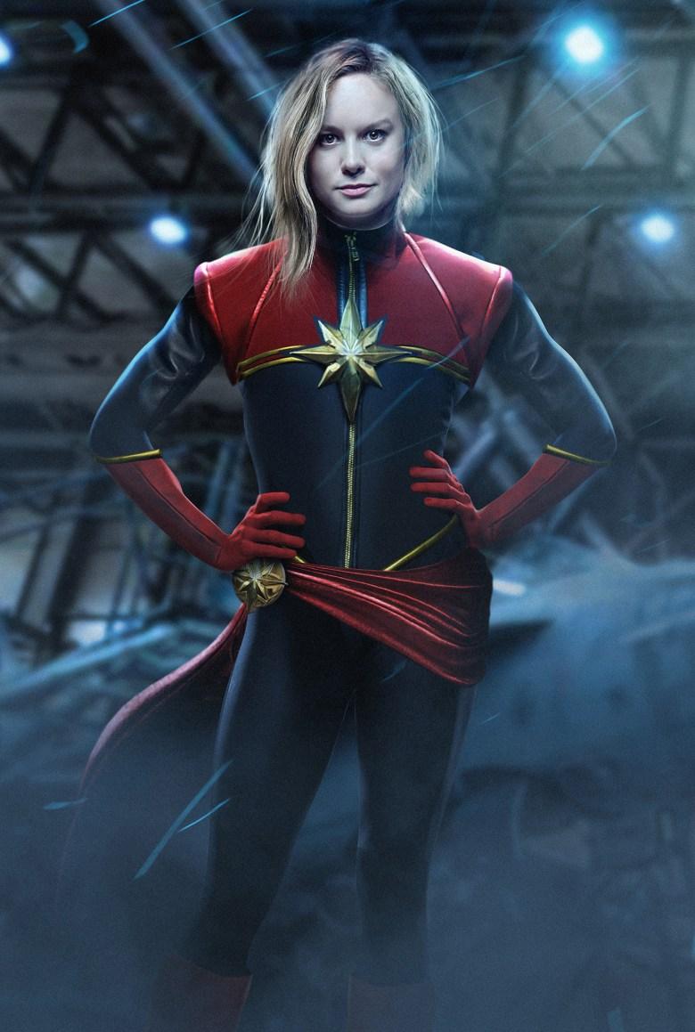 """Brie Larson as Captain Marvel"" by BossLogic"
