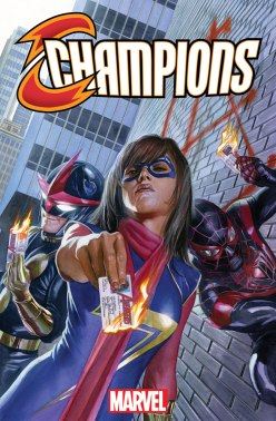 Champions #1 - cover by Alex Ross