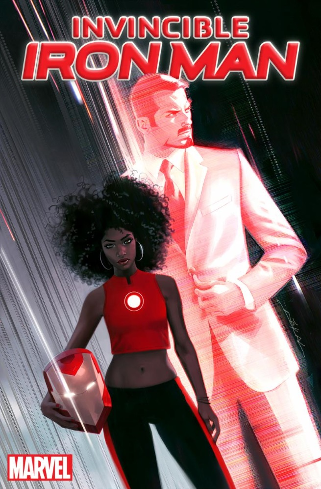 Riri Williams Iron Man Promo Art