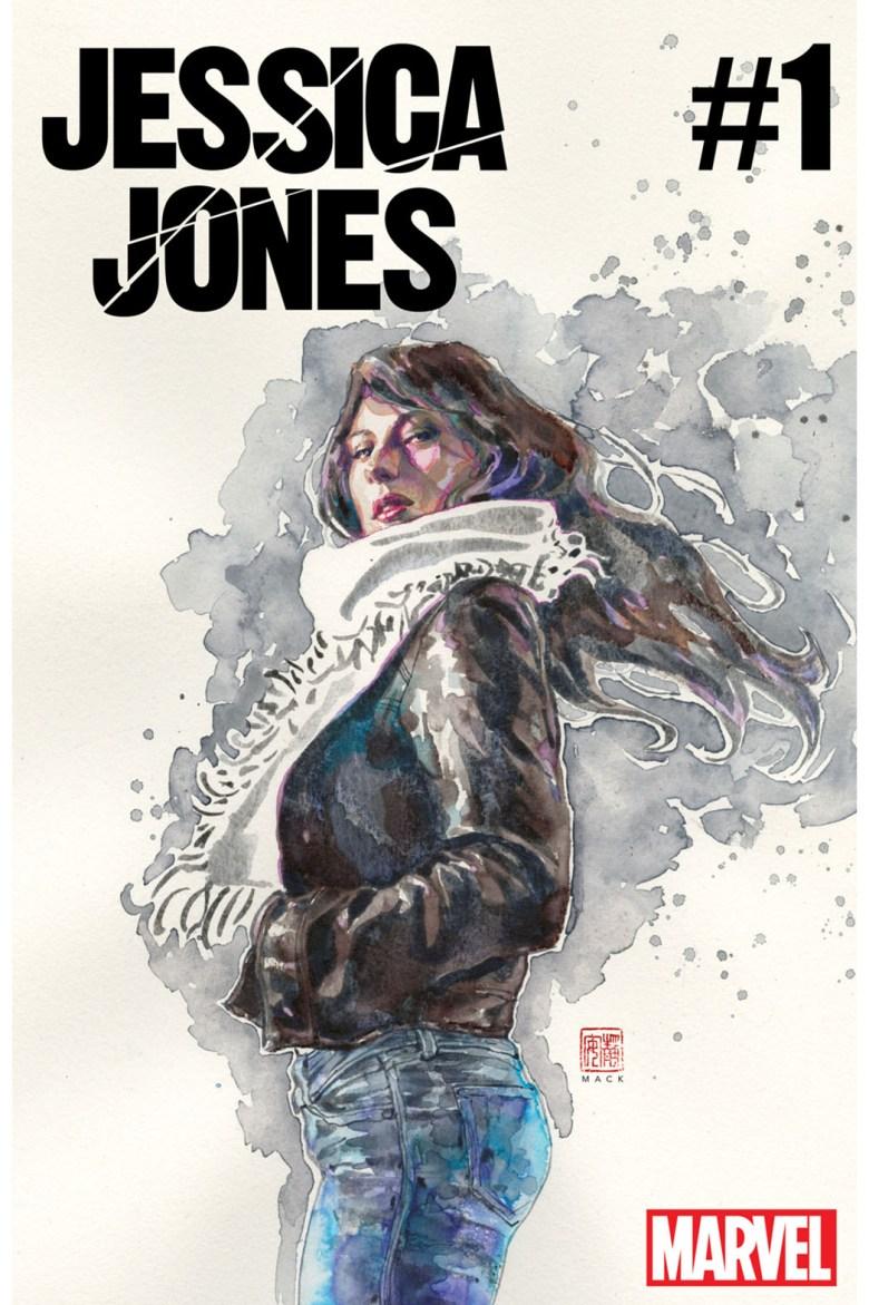 Jessica Jones #1 - cover by David Mack