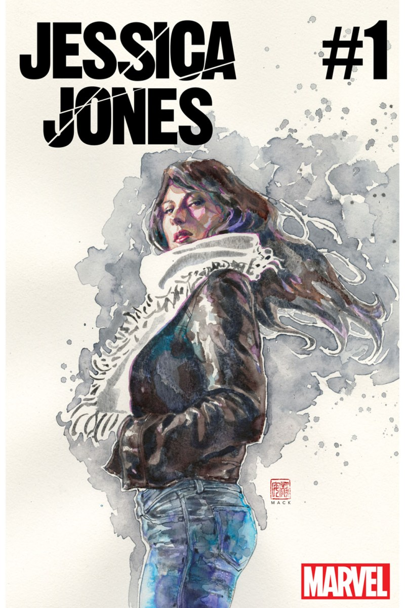 Jessica Jones #1 - cover by David Mack