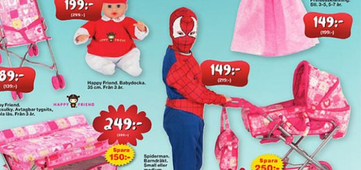 An Ad for the Swedish Toy Chain Leklust