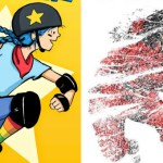"""November Book Club: """"Roller Girl"""" and """"Whiteout"""""""