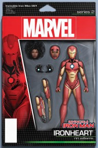 Invincible Iron Man #1 - Chritopher Variant