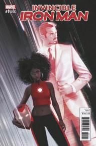 Invincible Iron Man #1 - Dekal Variant