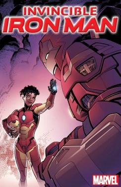 Invincible Iron Man #1 - Raney Variant