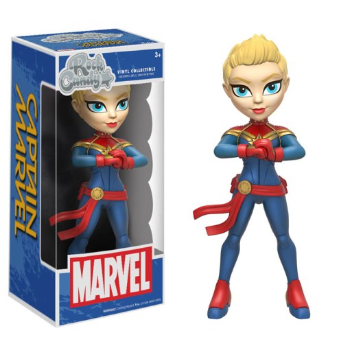 Captain Marvel - Rock Candy