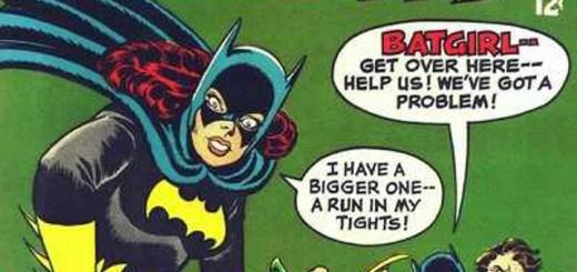 'Batgirl's Costume Cut-Ups'
