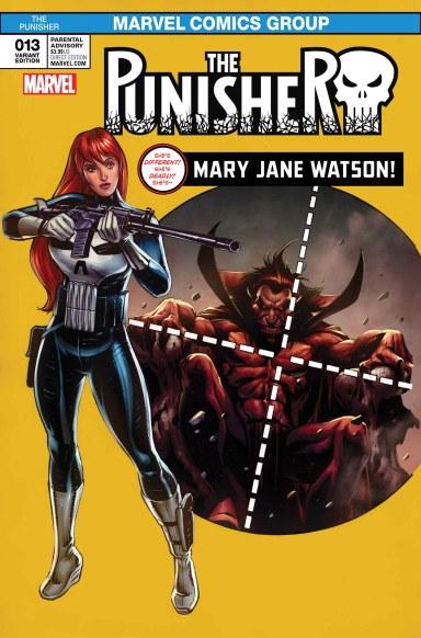 The Punisher #13 - Mary Jane Variant
