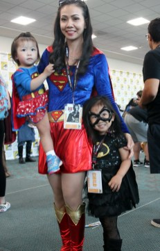 Supergirl, Superwoman and Batgirl - photo by Anya Marcotte